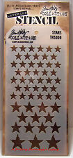 Stars Pattern Layering Stencil - Stampers Anonymous Tim Holtz Collection