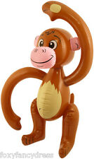 "Large Inflatable 22"" MONKEY 58 cm Jungle Animal Fancy Dress Hawaiian Party"