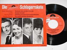 """SCHLAGERRAKETE - (Peter Alexander, Lolita, Connie Francis) 7"""" EP 45 Polydor Rec."""