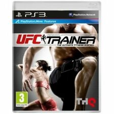 UFC Personal Trainer Includes Leg Strap (Move Compatible) Game PS3 Brand New