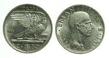 pci0404) Vittorio Emanuele III (1900-1943) 50 cent Impero 1936