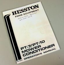Hesston 1170 Manual