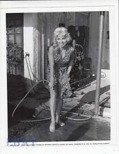 Cindy Robbins busty leggy barefoot VINTAGE Photo circa 1953