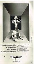 Publicité Advertising 1978 Les Produits Beauté de Beauté Klytia d'après Brizio