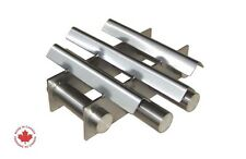 """Industrial 8"""" Round Magnetic Hopper Grate with Rare Earth Magnets"""
