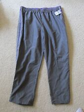 New Women's SJB Active Track/Athletic/Exercise Pants Plus Size 1X Gray/Purple