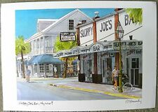 """Sloppy Joe's Bar, Key West"" by Robert Kennedy,edition 1500,signed by the artist"