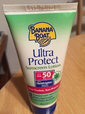 NEW banana boat ultra protect SPF 50 with aloe vera 90 ml MADE IN U.S.A.