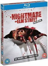 A Nightmare On Elm Street Films 1-7 Blu-Ray Box Set All 7 films 5051892072229 JD
