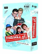 RODZINKA PL. SEZON 1 DVD( 4 disc)POLISH Shipping Worldwide