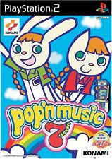 Used PS2 Pop'n Music 7   Japan Import (Free Shipping)