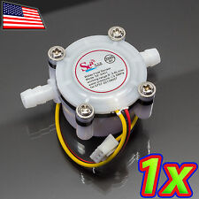 [1x] YF-S401 Water Flow Meter Hall Sensor Counter Small - 0.3 to 6 L/min 5VDC