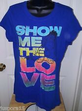 "Disney Junior's Multi Color Eeyore ""Show Me The Love"" T-Shirt Size XL (15/17)"