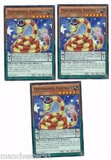 X3 YUGIOH PERFORMAPAL PARTNAGA SECE-EN002 COMMON (IN HAND)