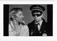 4 Photos Laurent Sola - Under Arrest - Gainsbourg Bruel - 1988 -