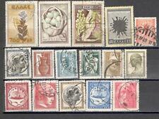 R4128 - GRECIA 1946/55 - LOTTO DIFFERENTI - VEDI FOTO