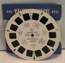 viewmaster reel XM-1 The Christmas Story Part I Mary & Joseph 1948 Sawyer