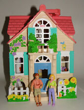 Fisher Price Sweet Streets Country Cottage Playhouse with Mom & Dad Figures