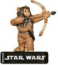 STAR WARS MINIATURES C EWOK WARRIOR 43/60 AE