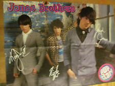 The Jonas Brothers, Dylan and Cole Sprouse, Double Four Page Foldout Poster