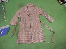 vintage houndstooth robe size L 42-44 Jc Penney mens womens big collar