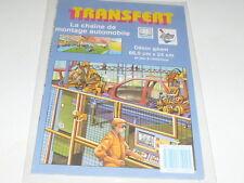 TRANSFERT ANNEES 80 CITROEN LA CHAINE DE MONTAGE AUTOMOBILE NEUF SCELLE
