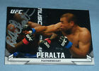 Robbie Peralta Signed UFC 2013 Topps Knockout Card #66 168 Fight Night Autograph