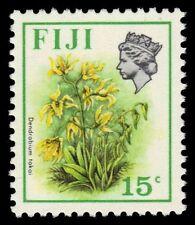 """FIJI 313b (SG513) - Flowers """"Dendrobium tokai"""" 1976 Printing (pa17070)"""