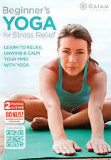 GAIAM beginner's yoga for stress relief-learn to relax,unwind (DVD)