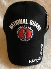 US Army NATIONAL GUARD Ball Cap USA Ballcap Infantry Airborne Armor Cavalry Hat
