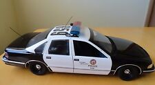 UT Models LAPD 1996 Chevy Caprice Diecast Car #659 Model Toy 1:18 Scale