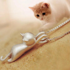 Pendant Small Animal Cat Shaped Necklace Female models Pendant Gorgeous