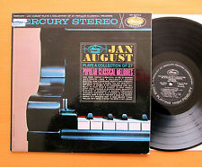 SR 60744 Jan August Plays 27 Popular Classical Melodies Mercury Stereo Promo LP
