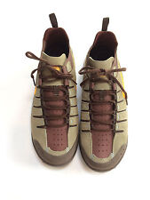 Nike Air ACG Trail Running Shoes men's 12 Leather Brown/Tan