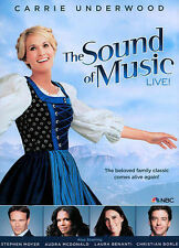 The Sound of Music Live! (DVD, 2013) Carrie Underwood Stephen Moyer NEW SEALED
