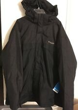 NWT Mens  Columbia Sz XXL Winter Jacket.  TIMBERLINE TRIPLE.  BLACK. Interchange