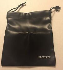 New SONY Black Bag Pouch for Sony MDR-7506 headphones Buy 2 get 1 Free