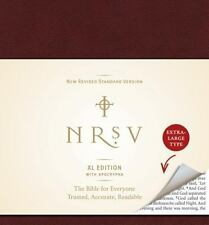 NRSV XL with Apocrypha by Harper Bibles Staff (2010, Hardcover)