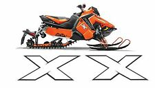 POLARIS AXYS HOOD decal GRAPHICS SWITCHBACK RUSH 800 600 PRO  X AXYS 120 137