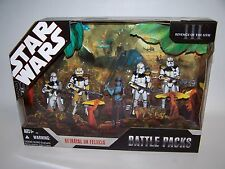 Star Wars ROTS Betrayal on Felucia Battle Packs NIB 2006 Hasbro