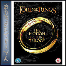 THE LORD OF THE RINGS - THE MOTION PICTURE TRILOGY  *BRAND NEW DVD BOXSET***
