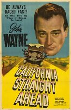 California Straight Ahead - 1937 - John Wayne Louise Latimer - Vintage Film DVD