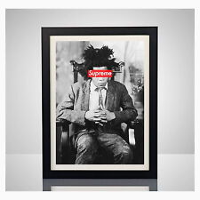 Supreme New York x Jean Michel Basquiat 11x17 Poster Print Box Logo Wall Art