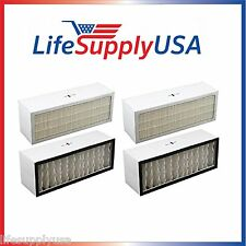 2 pack Filter A1001B to fit Bionaire  LC1060 & LE1160 Air Cleaner Dual Filter
