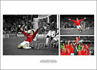 MANCHESTER UNITED SIGNED PHOTO POSTER PRINT SQUAD 1999 MAN UTD CHAMPIONs LEAGUE