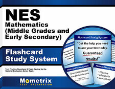 NES Mathematics (Middle Grades and Early Secondary) Flashcard Study System