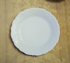 """Hutschenreuther Baronesse White Bread & Butter Plate 6 7/8"""", new Rosenthal"""