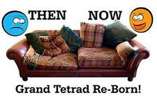 FIX IT FOREVER--Your SETTEE REBORN! 10YEAR GTEE! FOAM CUT TO SIZE CALL TO CHAT