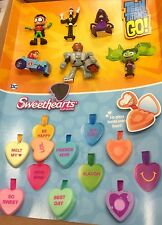 McDONALD'S 2017 SWEETHEARTS & TEEN TITANS GO! - COMPLETE SETS -PRE-SALE-