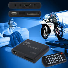 small Full 1080p HD Media Player Box MPEG/MKV/H.264 HDMI AV USB + Remote HR